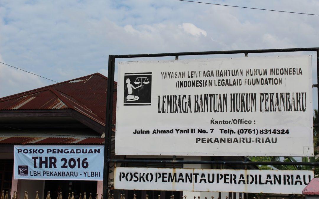 LBH Pekanbaru Buka Posko Pengaduan THR 2016 Gratis