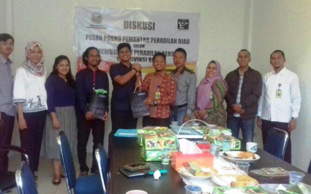 Posko Pemantauan Peradilan Riau Siap Mewujudkan Peradilan Bersih di Provinsi Riau