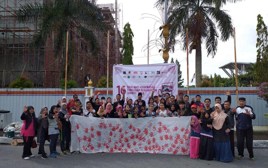 Koalisi Anti Diskriminasi (KASAI) Riau dalam Peringatan 16 Hari Anti Kekerasan Terhadap Perempuan (HAKTP) 2018