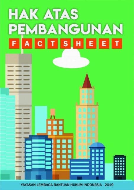 Factsheet Hak Atas Pembangunan