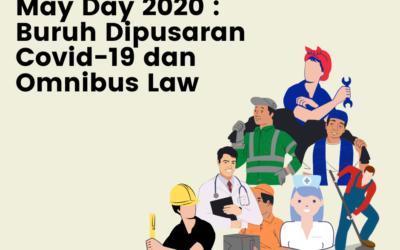 May Day 2020 : Buruh dipusaran Covid-19 dan Omnibus Law